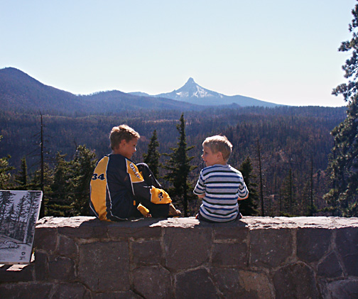 Above Blue Lake