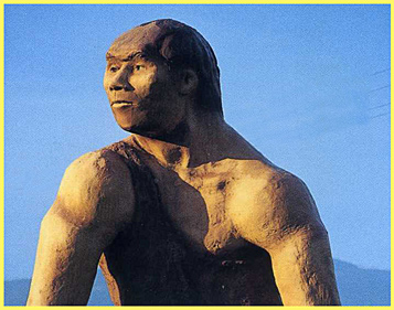 a giant statue