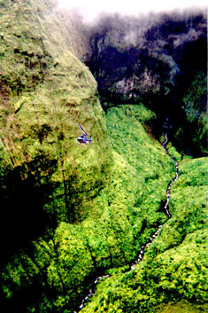 Daring helicopter tour into Kauai's Mt. Waialeale