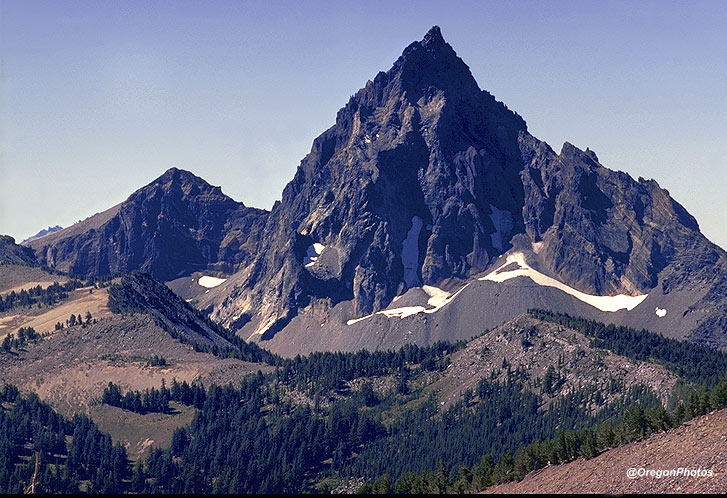 Mt. Thielson is one of Oregon's 