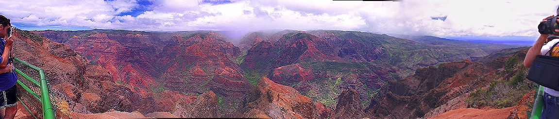 Waimea Canyon panorama, Grand Canyon of the Pacific